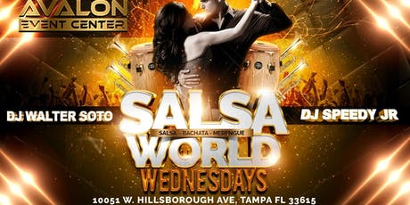 Salsa World Wednesdays Latin Night w/ Salsa Xtreme @ Avalon  tickets