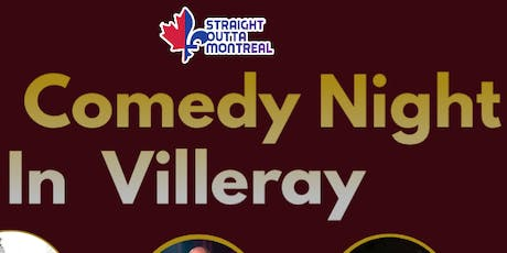 Comedy Show ( Stand Up Comedy ) Comedy Night in Villeray  tickets