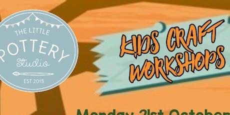 Kids Crafts Workshops - Witches Cauldron Bubbles tickets