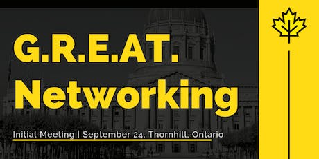 G.R.E.A.T Networking | Monthly Meetup| September 24 tickets