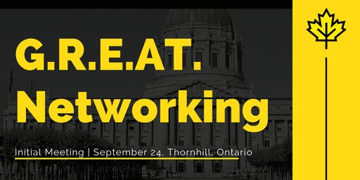 G.R.E.A.T Networking | Monthly Meetup| September 24
