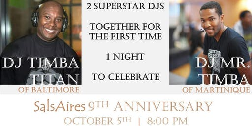 SalsAires 9th Anniversary Party and Workshops with Patrice Timba