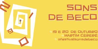 Festival Sons De Beco 10° Edição