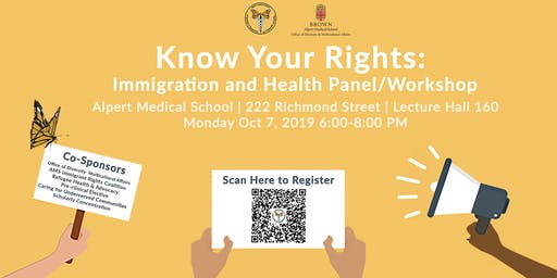 Know Your Rights: Immigration + Healthcare Panel/Workshop