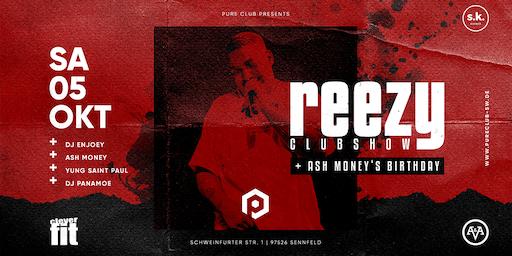 Pure DEIN Samstag feat. Reezy Club Show / DJ Enjoey