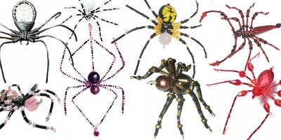 Spider Wire Art Wire Wrapping Jewelry Workshop with Marggi