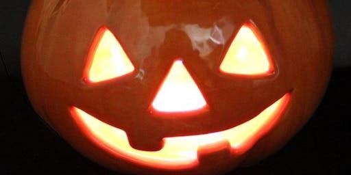 Kids Crafts - Paint your Own Light Up Pumpkin