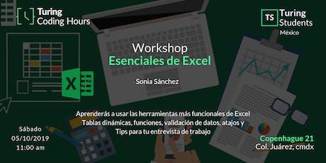 Esenciales de Excel entradas