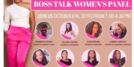 BOSS Talk: Women's Panel  tickets