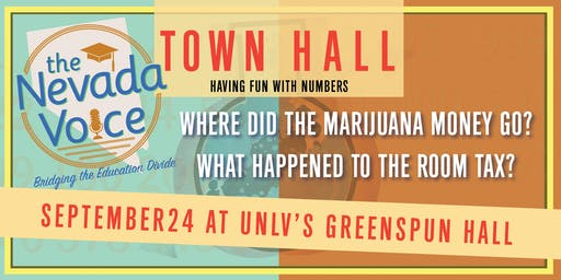Nevada Voice  September 24 Town Hall: Fun with Numbers!