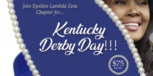 Epsilon Lambda Zeta Kentucky Derby Day