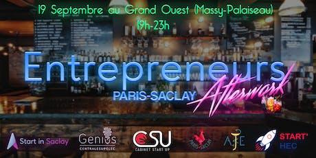 AfterWork Entrepreneurs Paris-Saclay billets