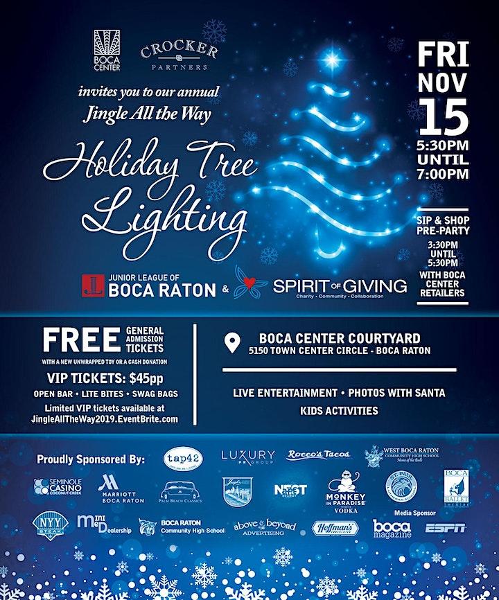 Jingle All the Way Holiday Tree Lighting image