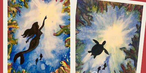 Under the Sea - Turtle or Mermaid