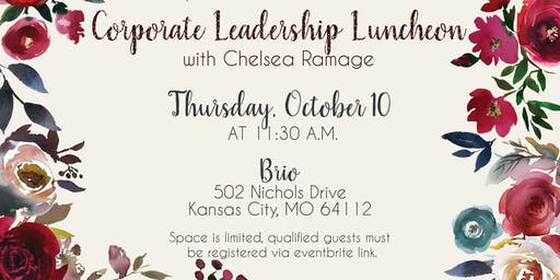 Corporate leadership luncheon