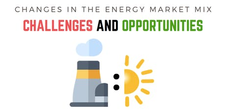 Challenges in the Energy Market Mix: challenges and opportunities tickets