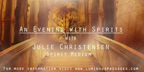 An Evening with Spirits - Celebrate Halloween in Rocklin tickets