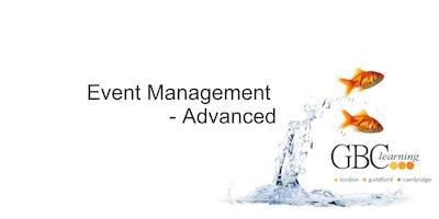 Event Management - Advanced - Guildford