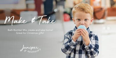 Make & Take Bath Bombs