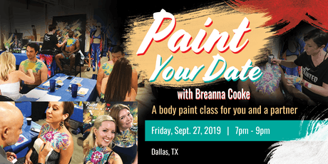Paint Your Date - A Body Paint Class for You and a Partner - 09/27/2019 tickets