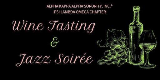 Wine Tasting & Jazz Soirée
