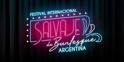 Salvaje, Festival Internacional de Burlesque Argen
