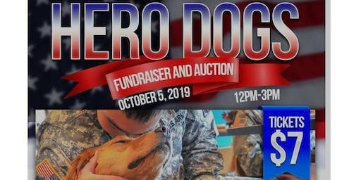 Hero Dog's Fundraiser & Auction