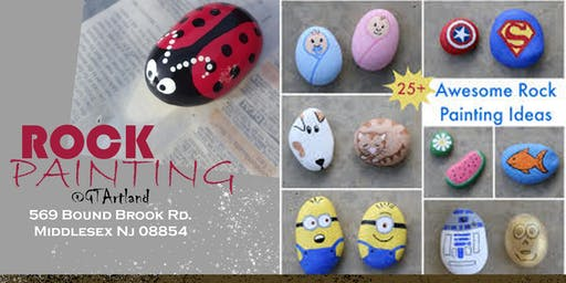 Rock Painting at GT Artland! - Middlesex,NJ