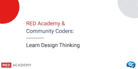 Community Coders x Red Academy: Learn Design Thinking tickets