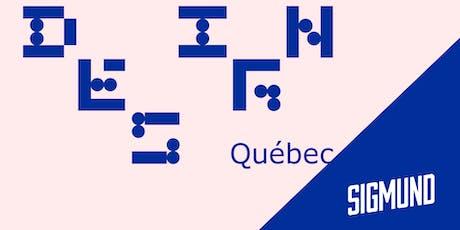 Design Québec #9 - Pour ou contre? billets