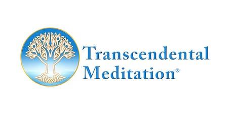 Free Transcendental Meditation Intro Talk tickets