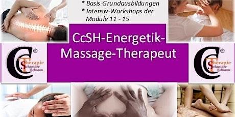 5-tägige Intensiv-Grundausbildung zum CcSH-Energetik®-Massagetherapeut Tickets