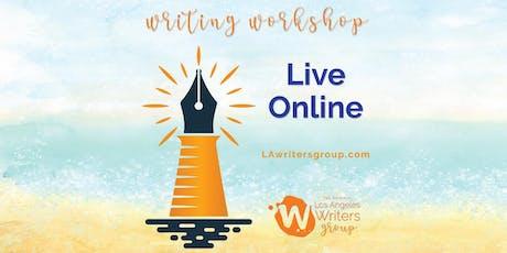 Creative Writing Workshop - Online tickets