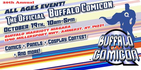 The Official BUFFALO COMICON tickets
