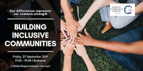 Building Inclusive Communities tickets