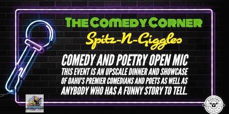 The Comedy Corner Open Mic  tickets