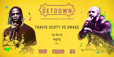 The Getdown Freshers Party- Drake x Travis Scott
