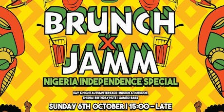 Brunch & Jamm - Nigerian Independence Special tickets