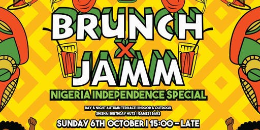 Brunch & Jamm - Nigerian Independence Special