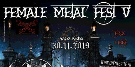 Female Metal Fest V billets