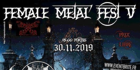 Female Metal Fest V billets
