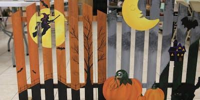 Decorative Halloween Fence  -  BYOB