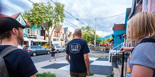 Toronto Counterculture and Cannabis Walking Tour