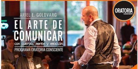 Oratoria Consciente - Ariel Goldvar entradas
