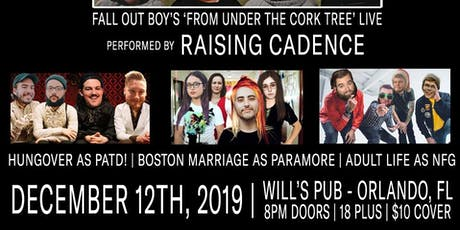 Under The Cork Tree Live by Raising Cadence with Special Guests tickets