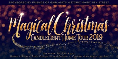 2019 Magical Christmas Candlelight Home Tour tickets
