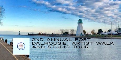 2nd Annual Port Dalhousie Artist Walk and Studio Tour tickets