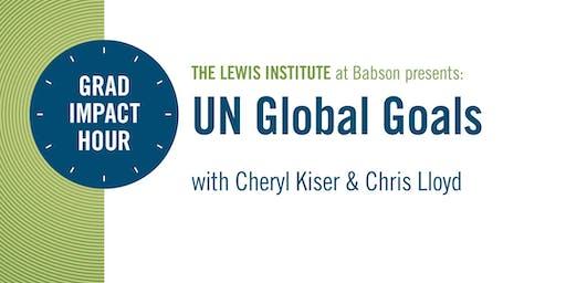 Grad Impact Hour: UN Global Goals