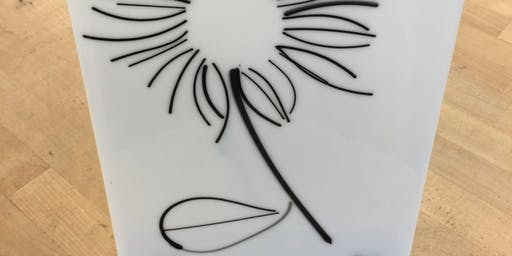 Line Drawing in Glass | Fusing Glass at db Studio