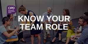 Know your team role!  (With personal Belbin report...